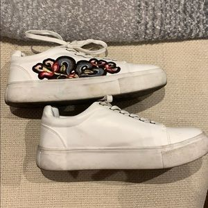 Steve Madden Embroidered Sneakers